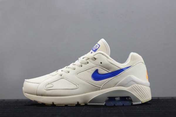Nike Air Max 180 Desert Sand/Racer Blue-Total Orange AQ9974-002 For Sale