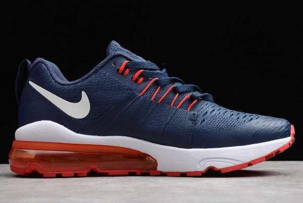 Nike Air Vapormax Flyknit Dark Blue/Red-White Sneakers For Sale