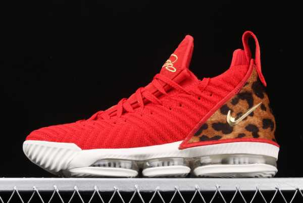 2020 Nike LeBron 16 XVI EP LBJ University Red AO2595-600 For Sale