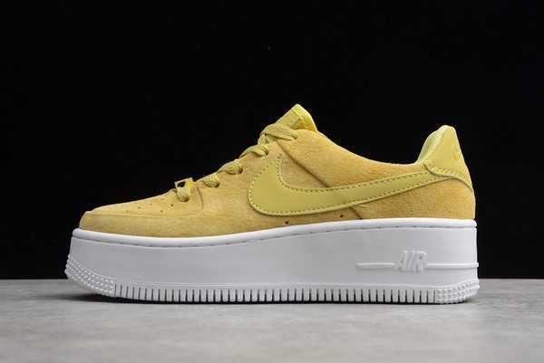 Nike Air Force 1 Sage Low Celery Yellow For Sale