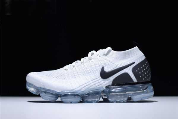 "Nike Air VaporMax Flyknit 2.0 ""Reverse Orca"" White Black 942842-103"