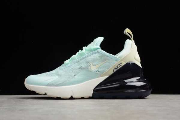 Nike WNS Air Max 270 Mint Green/Black-White Running Shoes Free Shipping