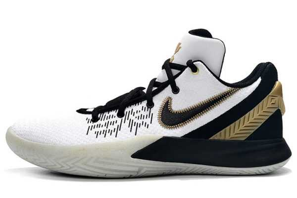 Nike Kyrie Flytrap 2 White/Black Gold Sneakers AO4438-170