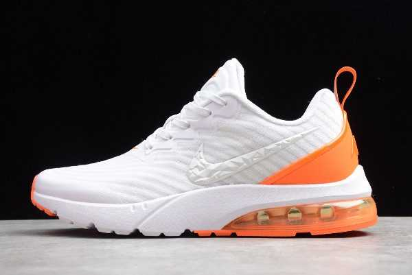 Nike Air Vapormax Flyknit White Orange On Sale