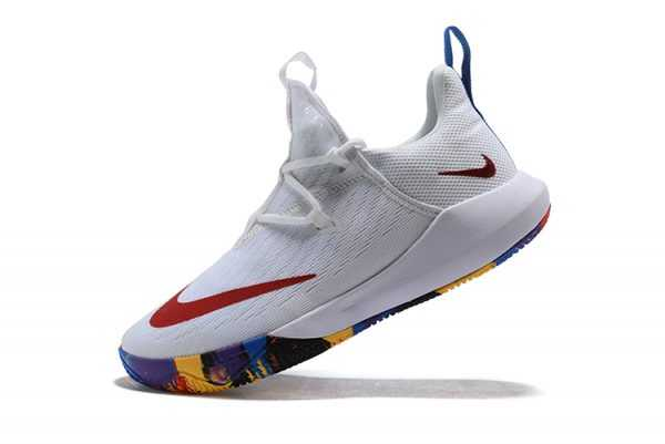 Nike Zoom Shift EP White/Multi-Color Basketball Shoes