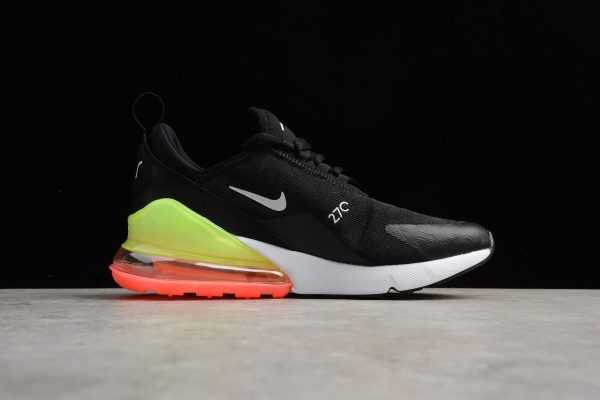 2018 Mens Nike Air Max 270 SE Black White Green AQ9164-003 For Sale