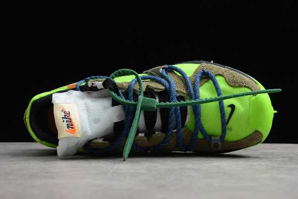 CD8179-300 Off-White x Nike Zoom Terra Kiger 5 Athlete in Progress Electric Green For Sale