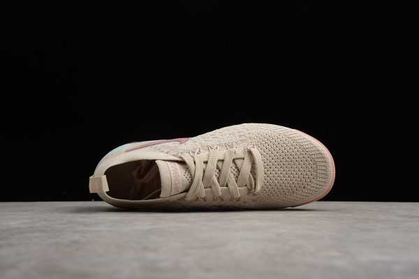 Womens Nike Air Vapormax Flyknit 2. 0 Particle Beige Somkey Mauve For Sale
