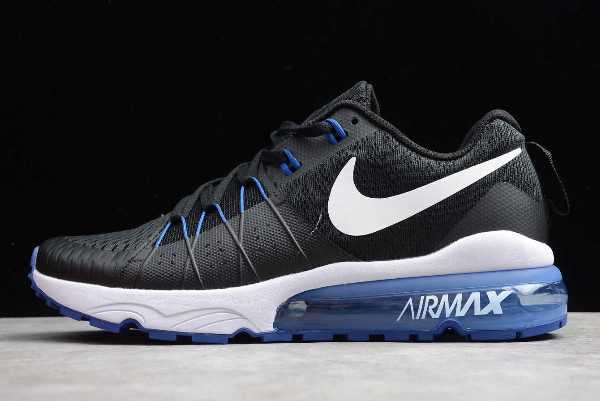 Nike Air Vapormax Flyknit Black Royal Blue On Sale