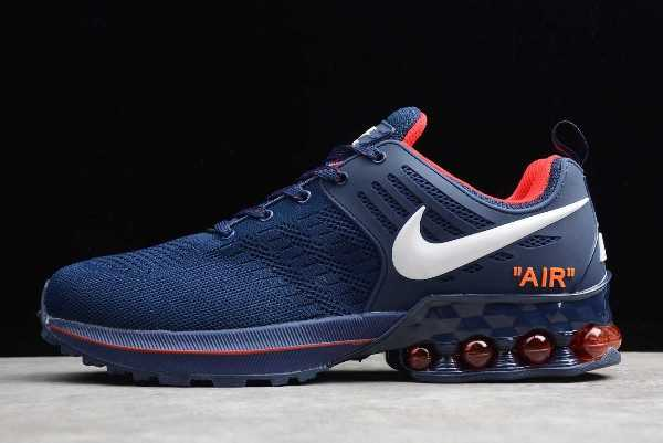 Nike Air Vapormax 2019 Blue Red Shoes For Sale