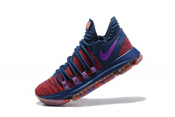 "Men's Nike KD 10 ""All-Star"" Ocean Fog/Fuchsia Blast-Hyper Crimson 897817-400"