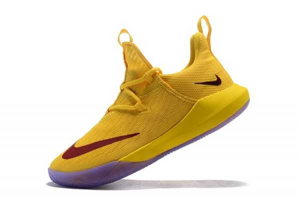 2018 New Nike Zoom Shift EP Yellow/Red Shoes