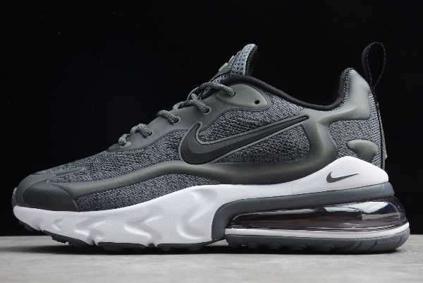 2020 Nike Air Max 270 React Dark Grey/Black-White AO4971-103 For Sale
