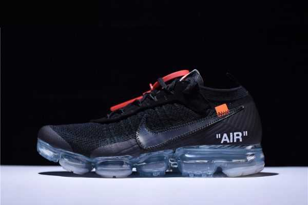 Virgil Abloh's New Off-White x Nike Air VaporMax Black/Total Crimson-Clear AA3831-002