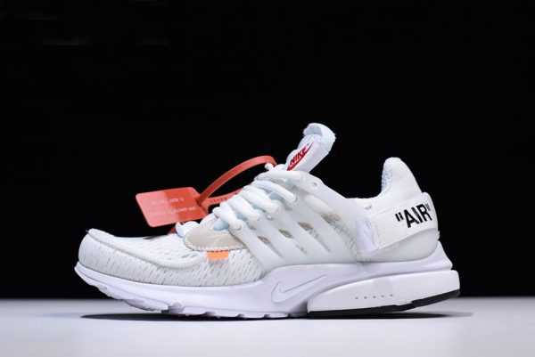 2018 New Off-White x Nike Air Presto White/Black/Cone Shoes