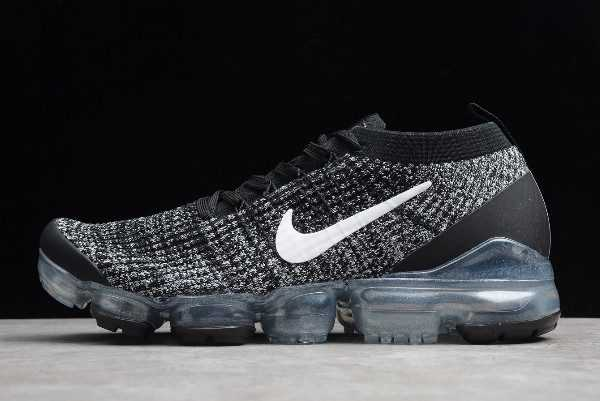 New Nike Air VaporMax Flyknit 3.0 Black/White AJ6910-001