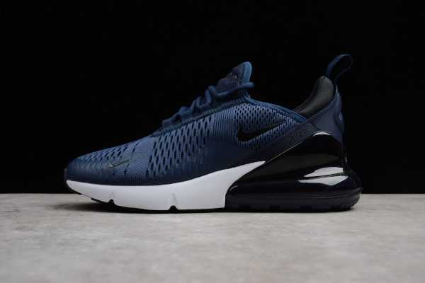 Men's Size Nike Air Max 270 Midnight Navy/Black-White AH8050-400