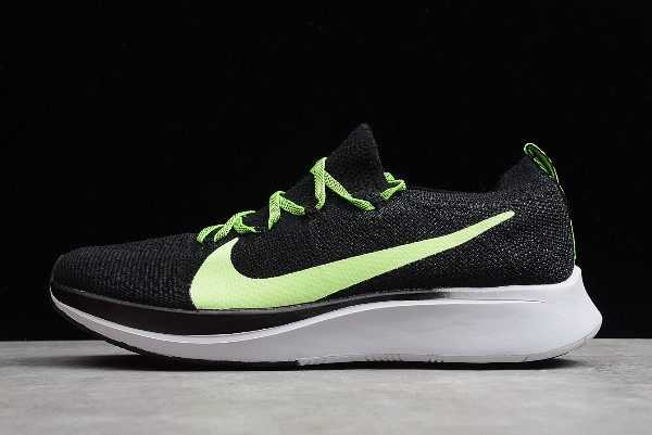 Nike Zoom Fly Flyknit Black/Green-White Men's Shoes