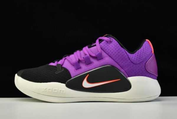 2018 Nike Hyperdunk X Low EP Purple/Black-White AR0465-500 Shoes